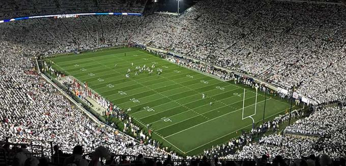 2020 Penn State Nittany Lions Football Season Tickets (Includes Tickets To All Regular Season Home Games) at Beaver Stadium
