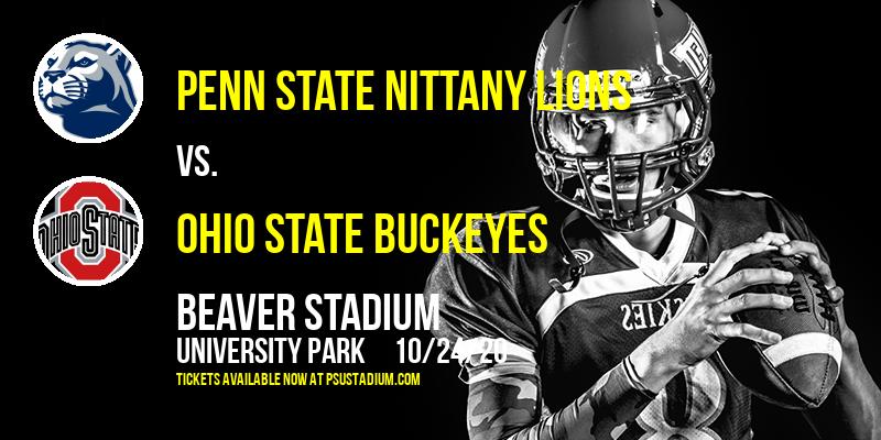 Penn State Nittany Lions vs. Ohio State Buckeyes at Beaver Stadium