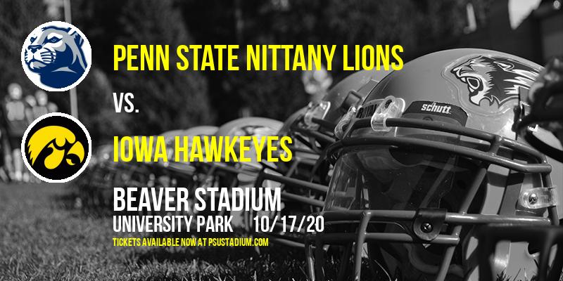 Penn State Nittany Lions vs. Iowa Hawkeyes at Beaver Stadium