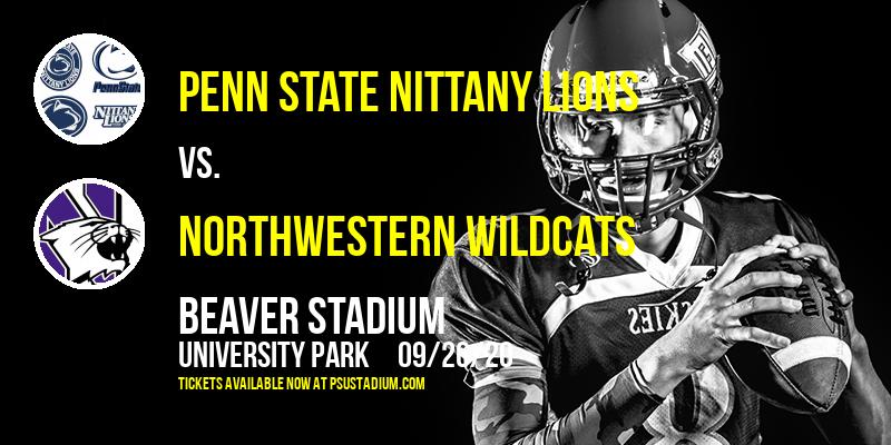 Penn State Nittany Lions vs. Northwestern Wildcats at Beaver Stadium