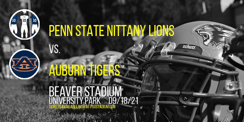 Penn State Nittany Lions vs. Auburn Tigers at Beaver Stadium